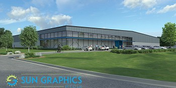 Sun Graphics Media Is Breaking Ground On A New 5.5 Million Dollar Headquarters In Wisconsin