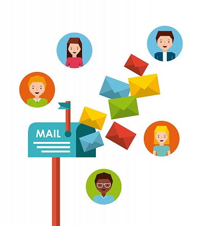 Graphic representation of the importance of direct mail marketing.